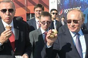 Hai ông Putin, Erdogan và chuyện cây kem