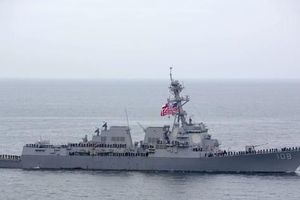 Tàu hải quân Mỹ 'đi dạo' ở biển Đông