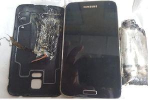 Samsung Galaxy S5 phát nổ, người đàn ông bỏng nặng
