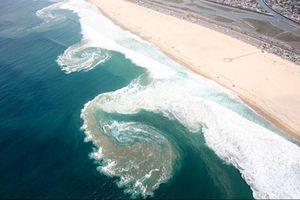 Cách nhận biết vùng nguy hiểm khi tắm biển