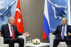 Lãnh đạo Nga - Thổ Nhĩ Kỳ bàn về khủng hoảng ở Syria
