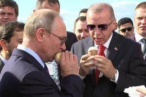 Putin - Erdogan: 'Ngoại giao kem ly' hay sự trêu chọc Dondurma