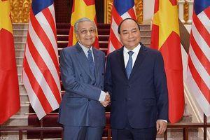 Việt Nam - Malaysia quan ngại sâu sắc những diễn biến ở Biển Đông