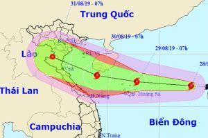 Bão số 4 liên tục mạnh thêm, hướng vào Thanh Hóa-Quảng Bình