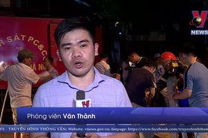 Cháy lớn tại Công ty Bóng đèn phích nước Rạng Đông (Hà Nội)
