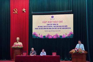Việt Nam đăng cai Hội nghị về y học cổ truyền, y học dân gian của các nước tiểu vùng sông Mê Kông