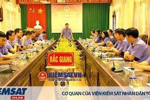 VKSND tỉnh Bắc Giang: Kiểm tra kiến thức, kỹ năng quản lý, chỉ đạo điều hành của cán bộ lãnh đạo