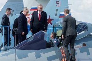 Tổng thống Thổ Nhĩ Kỳ tính mua Su-57 sau chuyến thị sát tại MAKS 2019