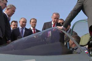 Ông Putin đích thân 'chào hàng' chiến đấu cơ Su-57 với Thổ Nhĩ Kỳ
