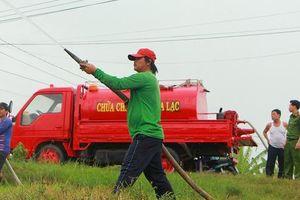 'Siêu xe' chữa cháy của những lão nông miền Tây