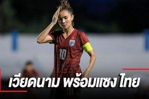 Đội trưởng Thái Lan hẹn 'phục thù' tuyển nữ Việt Nam ở SEA Games