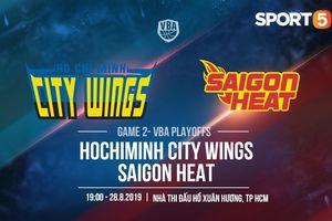 Tiếp đón Saigon Heat, bài toán khó chờ Hochiminh City Wings giải đáp