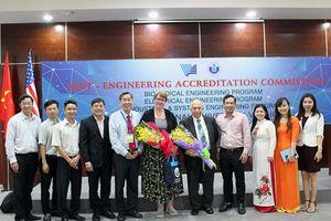 Trường ĐH Quốc tế – ĐHQG TPHCM: Hai chương trình đào tạo đạt chuẩn ABET