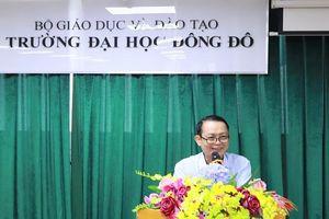 Bổ nhiệm PGS.TS. Lê Ngọc Tòng giữ chức Phó Hiệu trưởng Phụ trách Trường ĐH Đông Đô