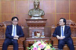 Tăng cường hợp tác giáo dục Việt Nam- Campuchia
