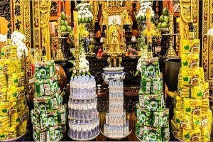 Thương hiệu mì 'Lá Bồ Đề' cúng dường chùa Thái Nguyên