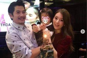 Con gái 2 tuổi của Quách Phú Thành lần đầu xuất hiện