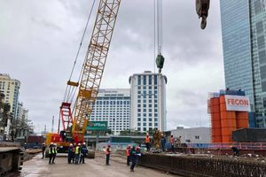 Đường sắt Nhổn-ga Hà Nội sẽ thi công khoan ngầm 4 nhà ga vào năm 2020