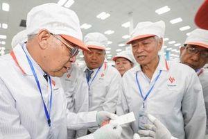 Chủ tịch Quốc hội vùng Yangon của Myanmar tham quan nhà máy VinSmart