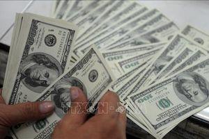 Tỷ giá trung tâm tăng 4 đồng, giá USD tăng nhẹ