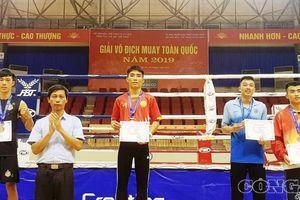 Võ đường MMA FIGHT ACADEMY bội thu sau giải Muay Thái toàn quốc 2019