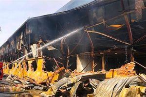 Bóng đèn Phích nước Rạng Đông thiệt hại 150 tỷ đồng do hỏa hoạn