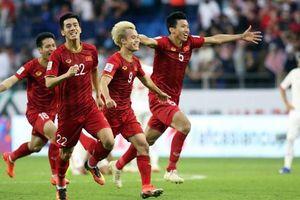 Lịch thi đấu chính thức đội tuyển Việt Nam tại vòng loại World Cup 2022