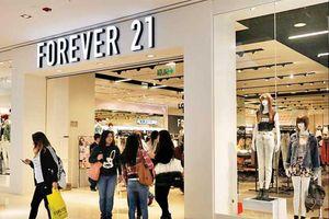 'Nối gót' Topshop, thời trang giá rẻ Forever 21 có thể đệ đơn phá sản