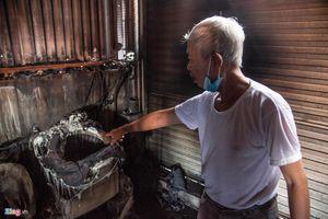 Nhân chứng bàng hoàng kể lại vụ cháy công ty Rạng Đông