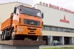 Xe tải Maz phải đạt tỷ lệ nội địa hóa 40% vào năm 2020