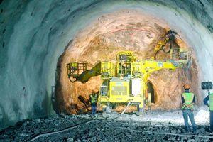 Hầm Hải Vân 2 đã đào được 98,5%, sẽ thông tuyến trong tháng 9
