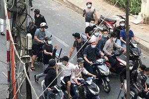 Nhóm giang hồ hỗn chiến ở Sài Gòn vì mâu thuẫn chuyện trai gái