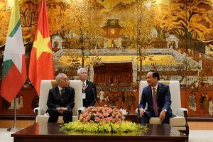 Yangon muốn học hỏi kinh nghiệm phát triển của Hà Nội
