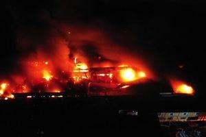 Thu hồi văn bản khuyến nghị không sử dụng thực phẩm sau vụ cháy