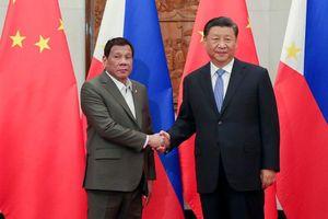Trung Quốc, Philippines tăng cường quan hệ song phương