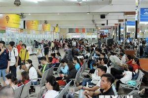 Nhiều người dân rời TP Hồ Chí Minh bắt đầu kỳ nghỉ lễ Quốc khánh