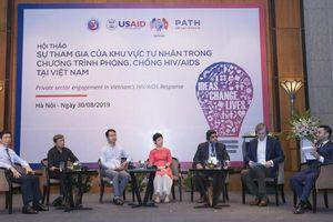 Khu vực tư nhân có vai trò quan trọng trong phòng, chống HIV/AIDS tại Việt Nam