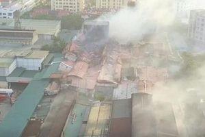Nguy cơ nhiễm độc sau cháy kho nhà máy Rạng Đông