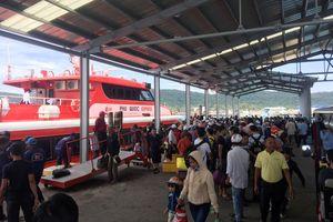 Kiên Giang: Tạm ngừng hoạt động các tàu chở khách ra đảo vì thời tiết xấu