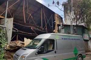 Sở TN&MT Hà Nội thông tin về vụ cháy Rạng Đông