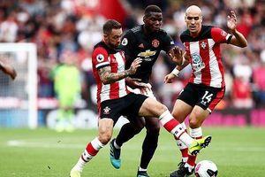Bị Southampton níu chân, MU không thắng 3 trận liền