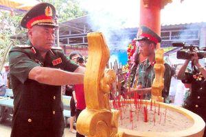 Quảng Nam: Khánh thành Nhà bia tưởng niệm anh hùng, liệt sĩ tại Hóc Thượng