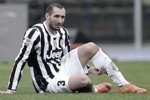 Juventus mất đội trưởng Chiellini 6 tháng