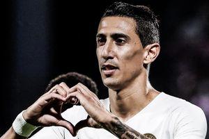 Highlights Di Maria ghi bàn giúp PSG thắng Metz 2-0