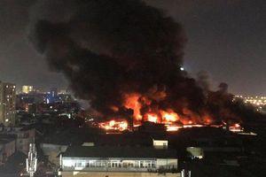 Sở Tài nguyên&Môi trường Hà Nội lên tiếng về tác động môi trường sau vụ cháy tại Công ty Rạng Đông