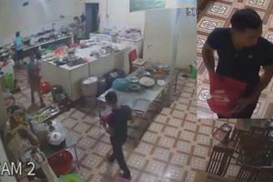 Đối tượng tạt axit vào nhân viên phụ bếp ở Hòa Bình đã ra đầu thú
