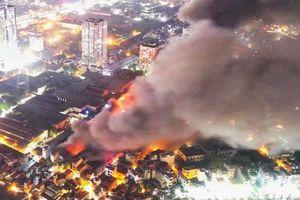 Các chỉ số về chì, thủy ngân quanh khu vực cháy ở Công ty Rạng Đông vẫn an toàn