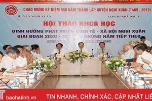 Các nhà khoa học hiến kế giúp huyện Nghi Xuân phát triển KT-XH