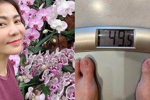 Thu Minh thông báo đánh bay 4 kg mỡ thừa chỉ trong 20 ngày