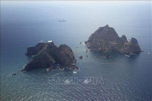 Nhóm nghị sĩ Hàn Quốc tới quần đảo tranh chấp với Nhật Bản
